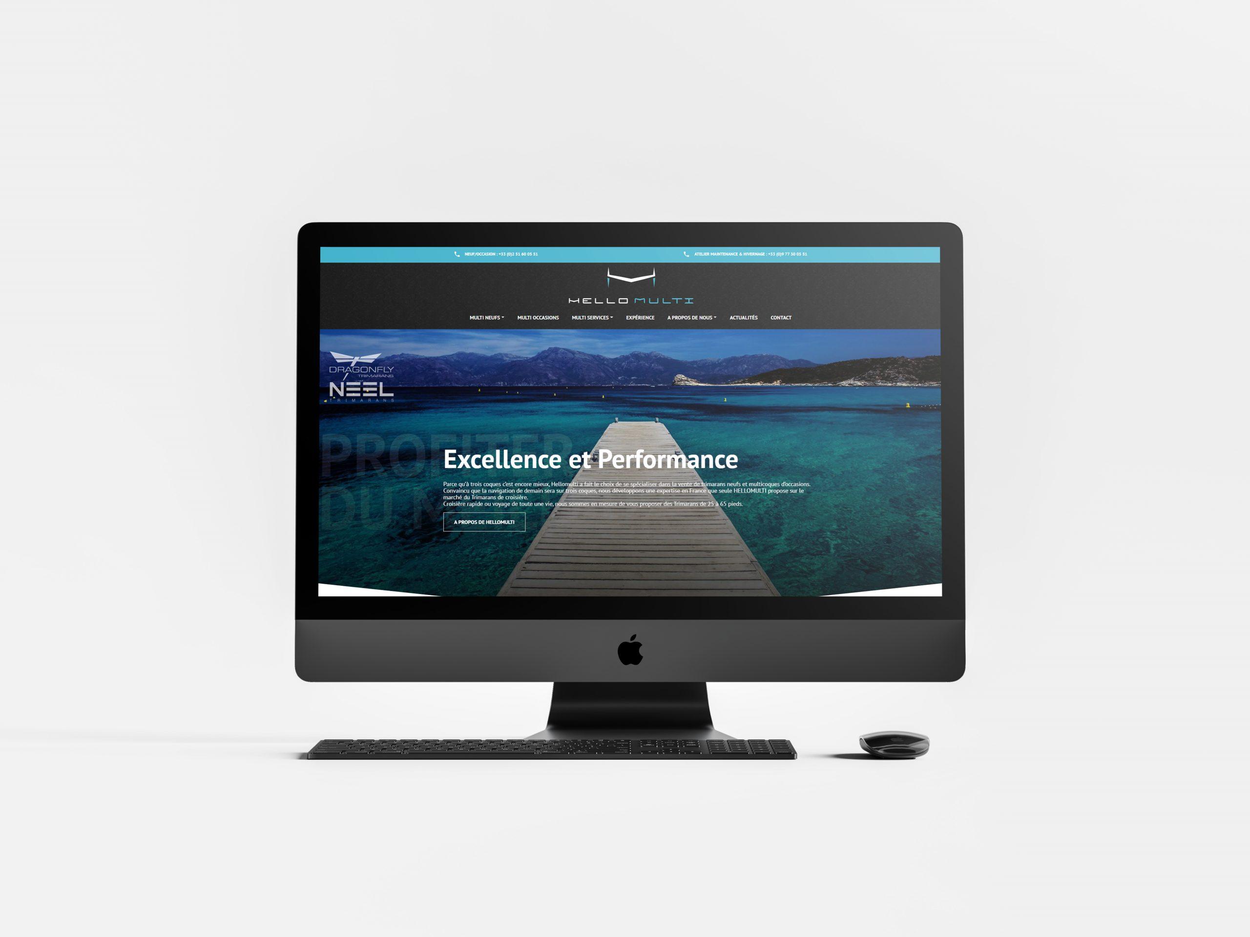 Réalisation du site HelloMulti par l'agence web Espace Technologie à Challans 85 Vendée